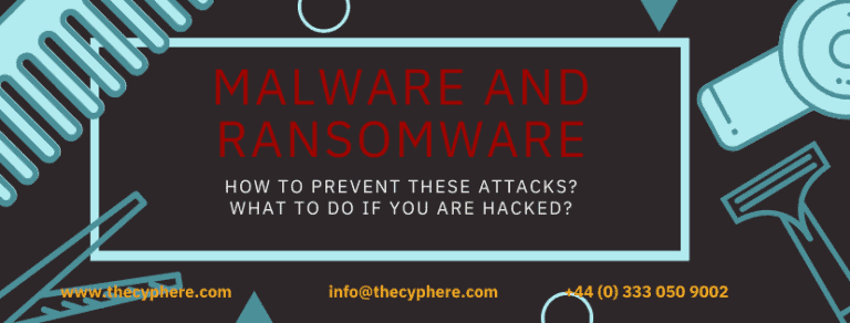 Malware attacks and removal