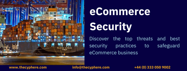 eCommerce security threats and best practices