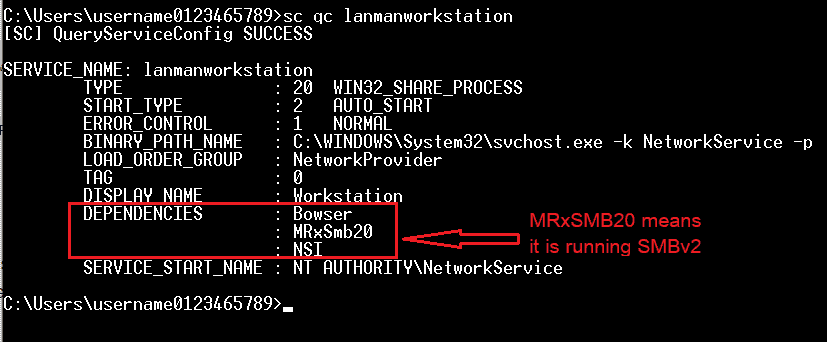 how to check which smb version is enabled