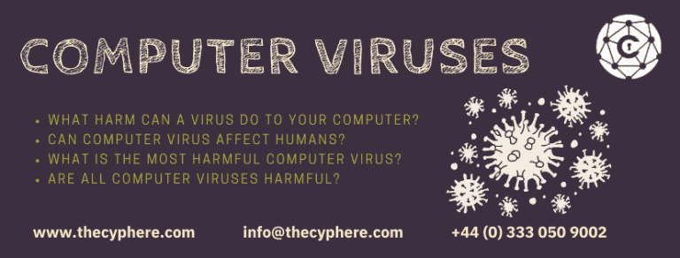 what harm can computer viruses cause