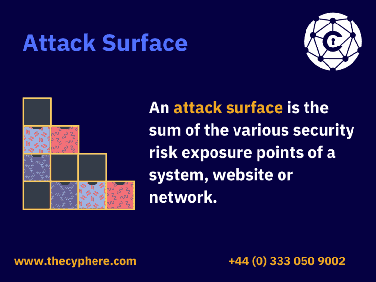 what does attack surface mean
