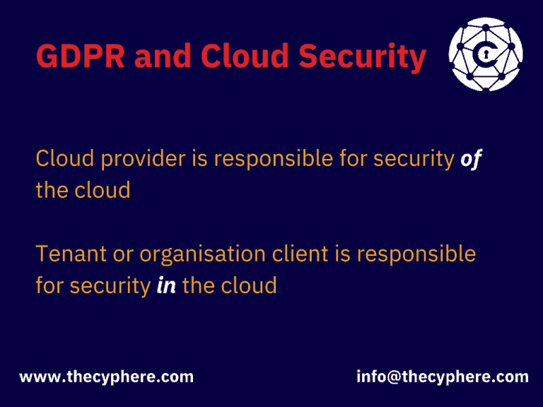 gdpr and cloud security testing