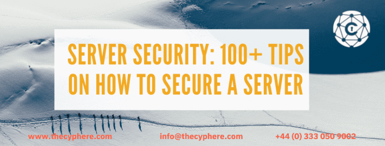server security tips and methods to follow